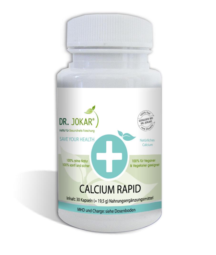 Mit Dr. Jokars Calcium Rapid ist sehr hilfsreich dagegen!