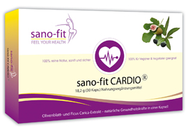 sano-fit CARDIO für Herz, Gefäße und Blutdruck